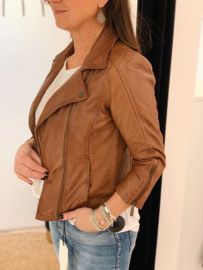 Leather Jacket Transmission 1433 Cognac