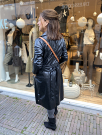 Coat Blazer Vegan Leather