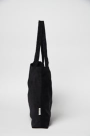All Black Rub Mom Bag