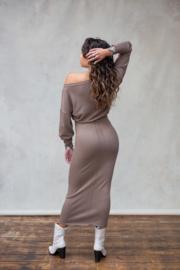 Bella Skirt Ash Brown