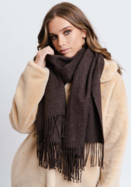 Ida Scarf Dark Brown