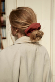 Red Scrunchie Lotte LIMITED EDITION