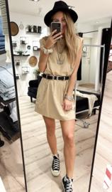 Short Dress Shoulderpads 2377