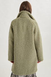Teddy Coat Green 90311