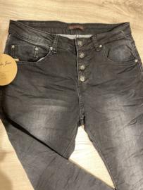 PDJ Button Broek 90109 Washed Black