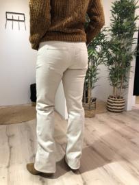 Perla Lace Boot Cut Winter White