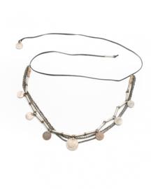 Salome Short Belt/Necklace Black