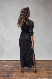 Evita Dress/Cardigan Black