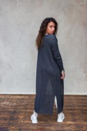 Ayla Knitted Vest Stone Grey