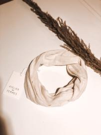Off White Headband - Bandeau Fleuri