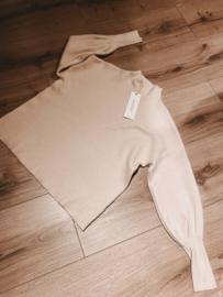 Turtle Sweater 159 Light Beige&Black