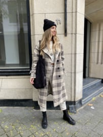 Cassandra Check Coat