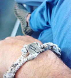 Doubled bracelet