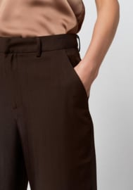 Fia Pants Dark Brown