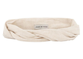 Off White Headband - Bandeau Fleuri