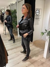 Leather jacket MS15-L016