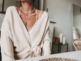 CARDIGAN Knot Knit