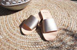 RIA Slipper Metalgrain Onyx