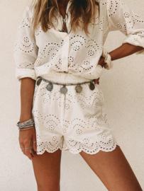 Vanja Shorts White
