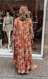 Dress Viscose V-hals EXTRA LONG 10658
