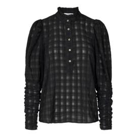 Rowland Puff Sleeve Black