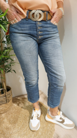 Jeans P36HBQ2EOT Blue Denim