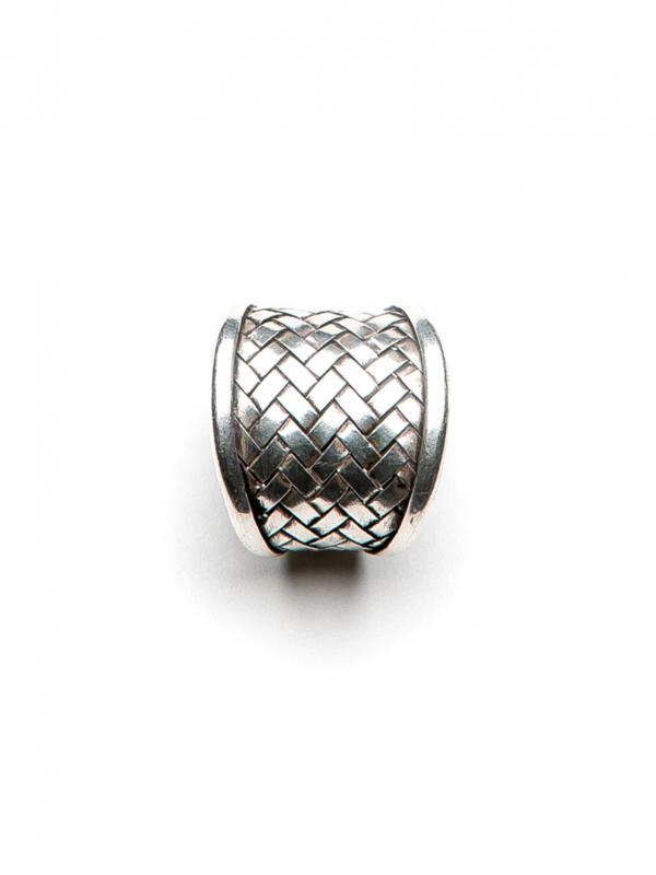 Quadrate Ring Silver