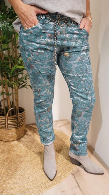 Pants P78AUT2M07 Smeraldo