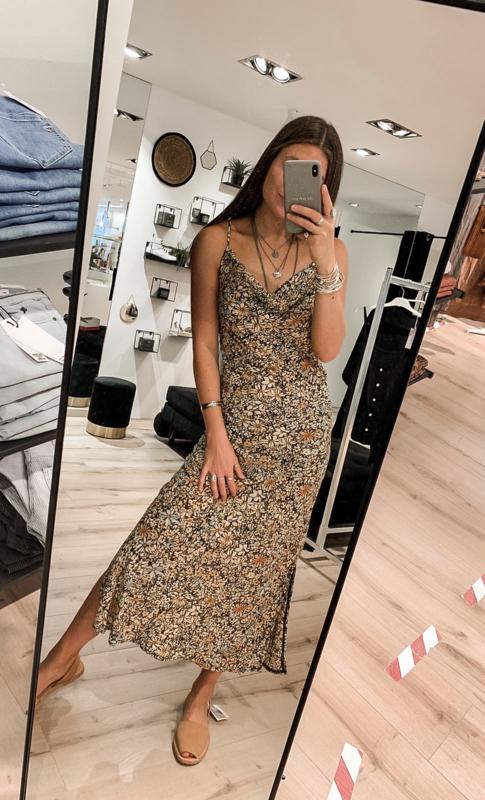 Dress Split Wild Flower