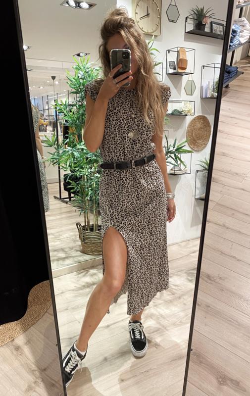 Leopard Dress Shoulderpad