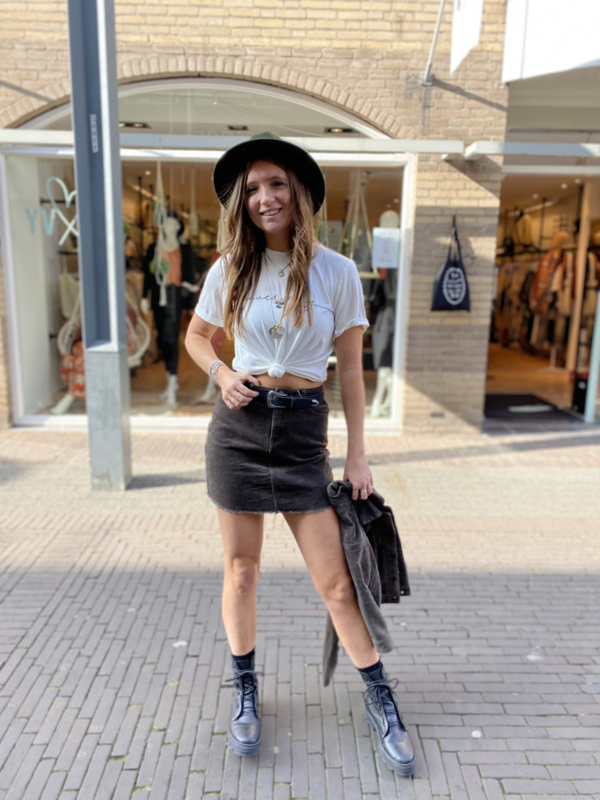 Corduroy  Skirt Olive 70503