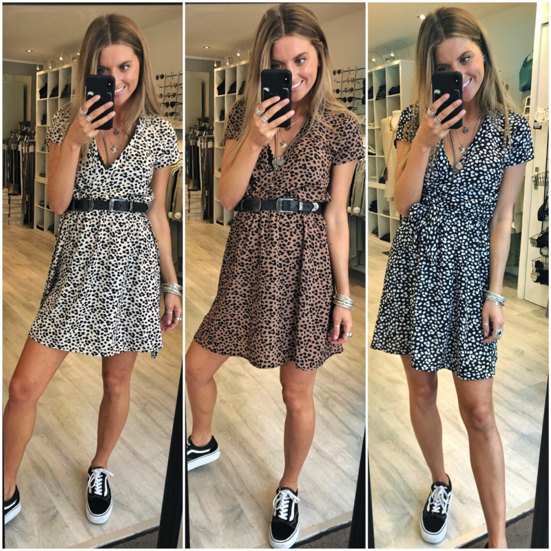 Short Dress Leopard 1618