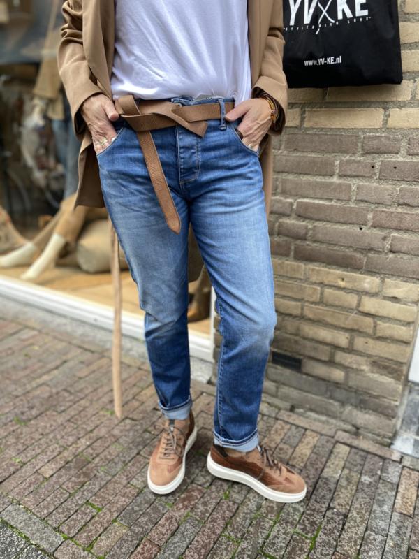 Jeans P85BQ2P6U Blu Denim