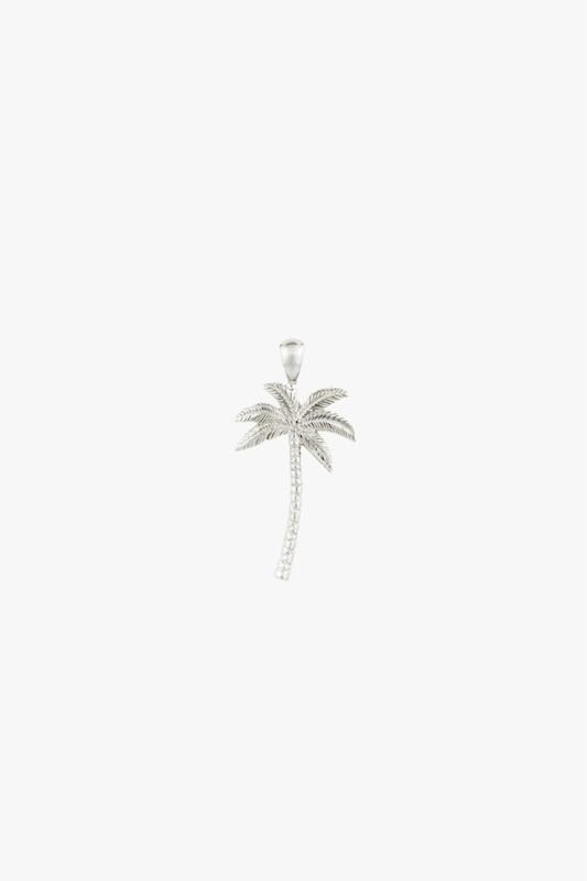 Palmtree Pendant Silver