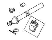 Vaillant Set dakdoorvoer DN 80/125 voor schuin dak voor aroSTOR VWL B 150/5