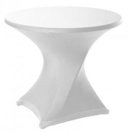 Tischhusse Delight Dena Stretch, Farbe Weiss 181