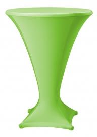 Stehtisch husse Cocktail D1 Dena Stretch, Farbe Apfelgrün 193