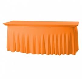 Tischhusse Grandeur Stretch Dena 183 x 76 x 73 cm Orange 127