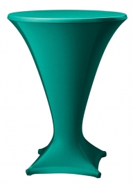 Stehtisch husse Cocktail D1 Dena Stretch, Farbe Grün 195