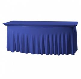Tischhusse Grandeur Stretch Dena 183 x 76 x 73 cm Blau 132