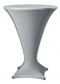 Stehtisch husse Cocktail D1 Dena Stretch, Farbe Grau 184