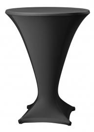 Stehtisch husse Cocktail D1 Dena Stretch, Farbe Schwarz 201