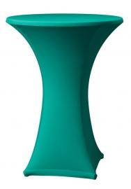 Stehtisch husse Samba D1 Dena Stretch, Farbe Grün 135