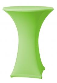 Stehtisch husse Samba D1 Dena Stretch, Farbe Apfelgrün 134