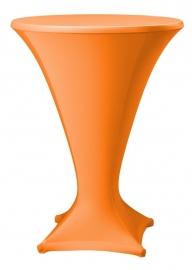Stehtisch husse Cocktail D1 Dena Stretch, Farbe Orange 186