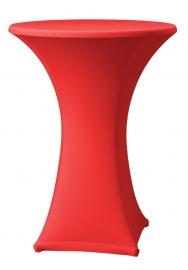 Stehtisch husse Samba D1 Dena Stretch, Farbe Rot 130