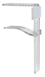 Klammer / Clip 12 Dena 30 - 110 mm Verpackt pro 25 Stück