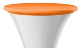 Top Cover / Tischplatten Bezug Festival Dena Stretch, Farbe Orange 186