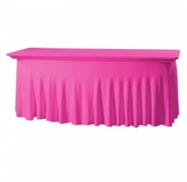 Tischhusse Grandeur Stretch Dena 183 x 76 x 73 cm Pink 128
