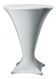 Stehtisch husse Cocktail D1 Dena Stretch, Farbe Silbergrau 183